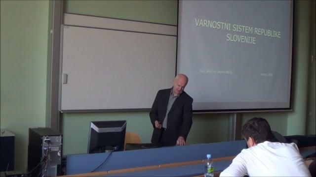 Varnostni sistem Slovenije