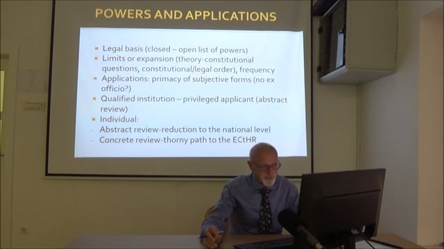 Constitutional and International Human Rights Law