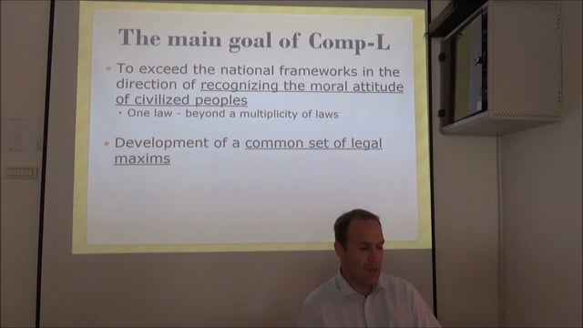 Comparative Law And Large Legal Systems
