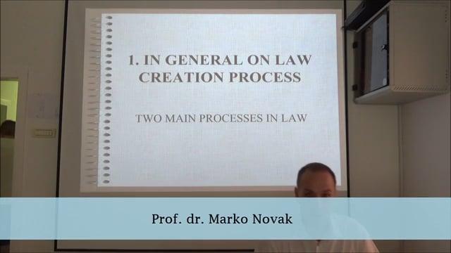 Legislative Process And Nomotechnics