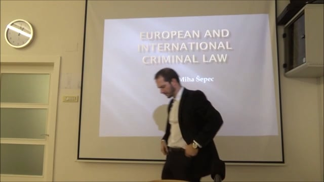 European and international criminal law