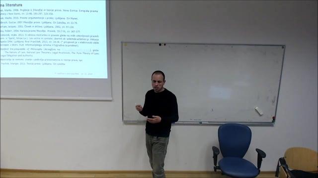 Filozofija in teorija prava