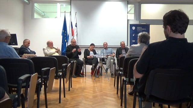 Akademski forum Nove univerze ob izidu knjige Ustanovitev Slovenije