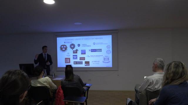 Predstavitev informacijske baze EBSCO