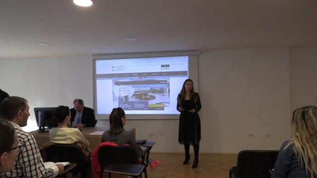 Predstavitev informacijske baze EBSCO in programa za detekcijo plagiatorstva